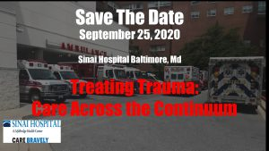 2020 Treating Trauma: Care Across the Continuum @ Sinai Hospital of Baltimore
